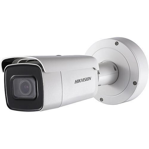 Hikvision EasyIP 2.0+ IP Bullet camera Voor buitengebruik Resolutie: 8MP Lens: 2.8-12mm MZF
