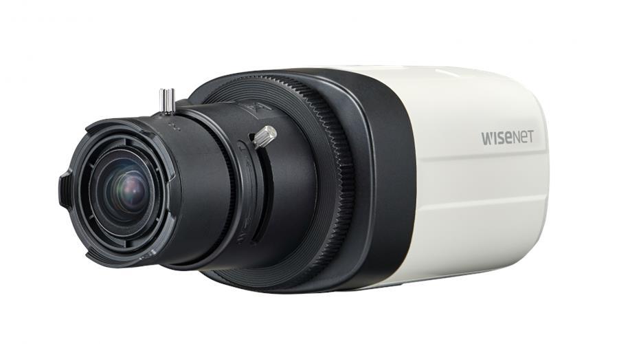 Hanwha Wisenet HDoC Box camera Voor binnengebruik Resolutie: 2MP Lens: Geen