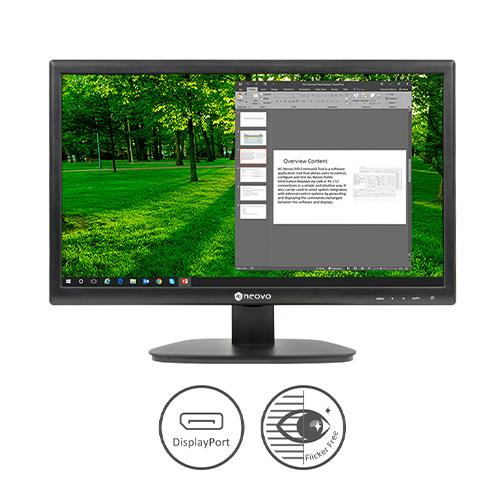 AG Neovo LED monitor 21,5 Inch Resolutie: 1920x1080, Full HD