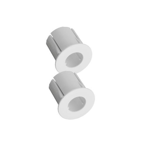 Alarmtech adapter voor inbouw in metaal, Wit
