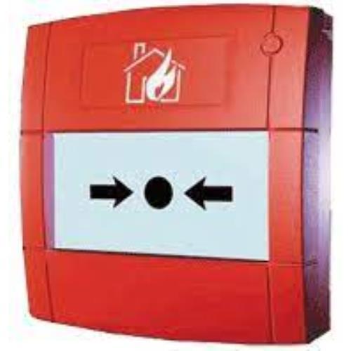Handbrandmelder inbouw met flex element