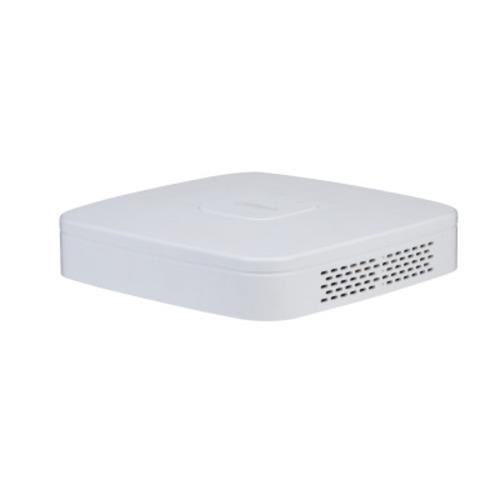 Dahua NVR4104-P-4KS2/L NVR Bandbreedte: 80Mbps 1 SATA
