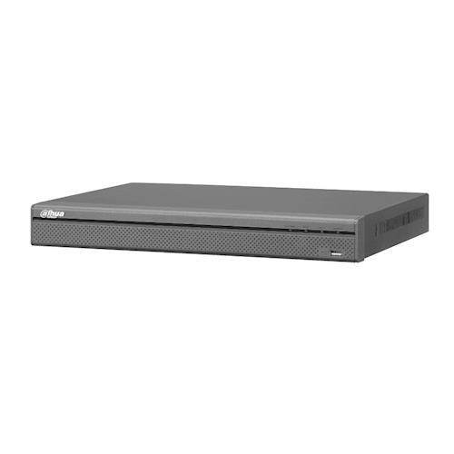 Dahua NVR 4 Kanaals Bandbreedte: 200Mbps 2 SATA, capaciteit tot 6 TB voor elke HDD 4x PoE poorten