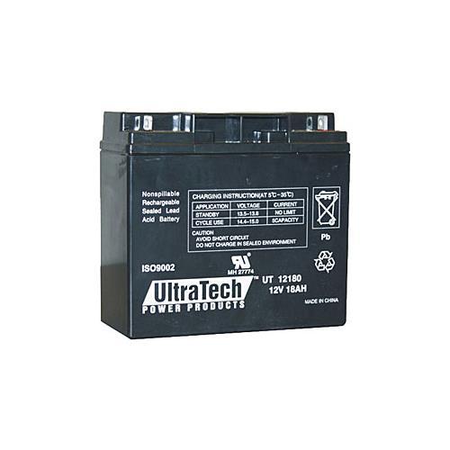 Ultratech onderhoudsvrije loodaccu 12V 18Ah