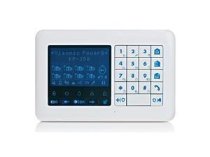 Visonic PowerMaster draadloos LCD bediendeel KP-250 PG2 (Duits)