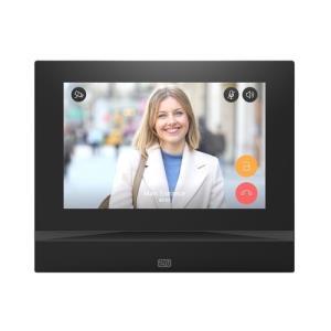 """2n,Ip Indoor View Monitor, 7"""" HD Touchscreen, Full Screen Video, Zwart"""