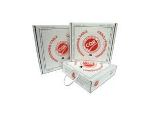 Soepele kabel afgeschermd 4x0,22+2x0,5 Box 200m