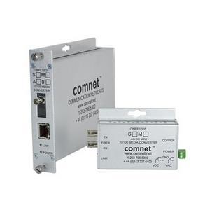 Media Converter Ethernet>Fiber, MultiMode 1 vezel, ST connector, Zijde A
