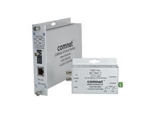 Media Converter, 100Mbps, Singlemode, 2 Fibers, SC Connector, DC Only