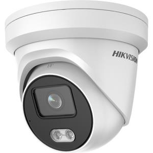 Hikvision EasyIP 3.0 IP Eyeball/Turret camera Voor buitengebruik Resolutie: 4MP Lens: 4mm
