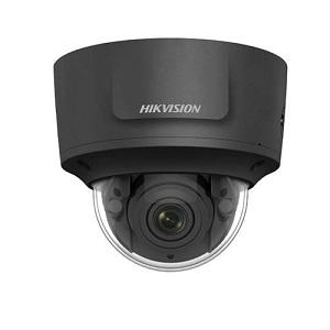 HIKVision Outdoor varifocale IP Dome camera Black 8MP 2.8-12mm IR: EXIR 30m