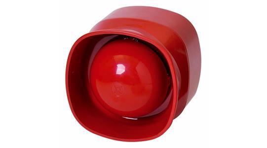 SOUNDER ADDR uninterruptible indoor  red