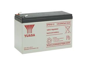 Yuasa onderhoudsvrije loodaccu 12V 8,5Ah VRLA