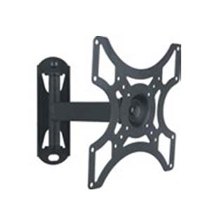 W Box Eenarmige tilt en swivel Wall Mount Monitor Bracket Kantelen: +15 tot -15 graden Vesa Mount: 200x200mm (Max)