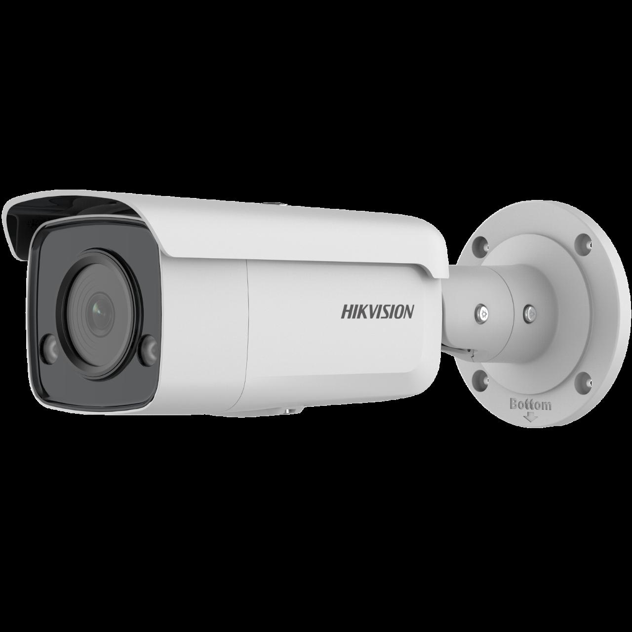 Easy IP4.0 - ColorVu <(>&<)> Acusense G2, IP Bullet camera, Voor Buitengebruik, Resolutie 4MP , Lens 2.8mm HFOV 103°