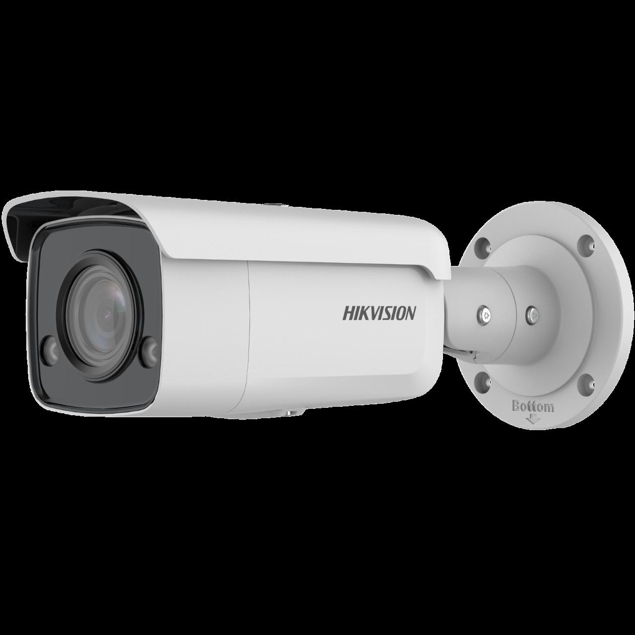 Easy IP4.0 - ColorVu <(>&<)> Acusense G2, IP Bullet camera, Voor Buitengebruik, Resolutie 8MP , Lens 2.8mm HFOV 102°